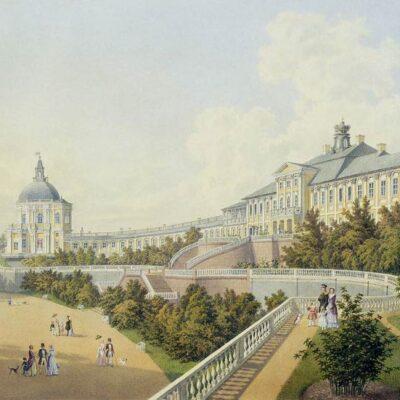 4а. Большой дворец в Ораниенбауме.А.А.Беземан ок.1847 г.